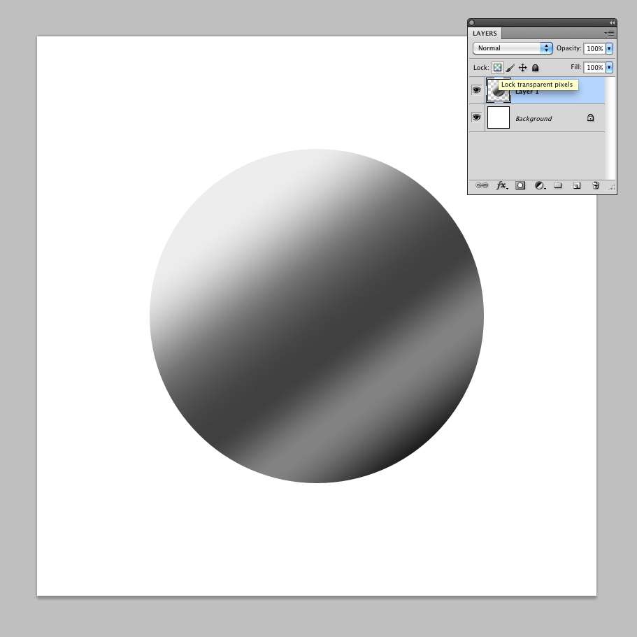 Textured ball in Photoshop