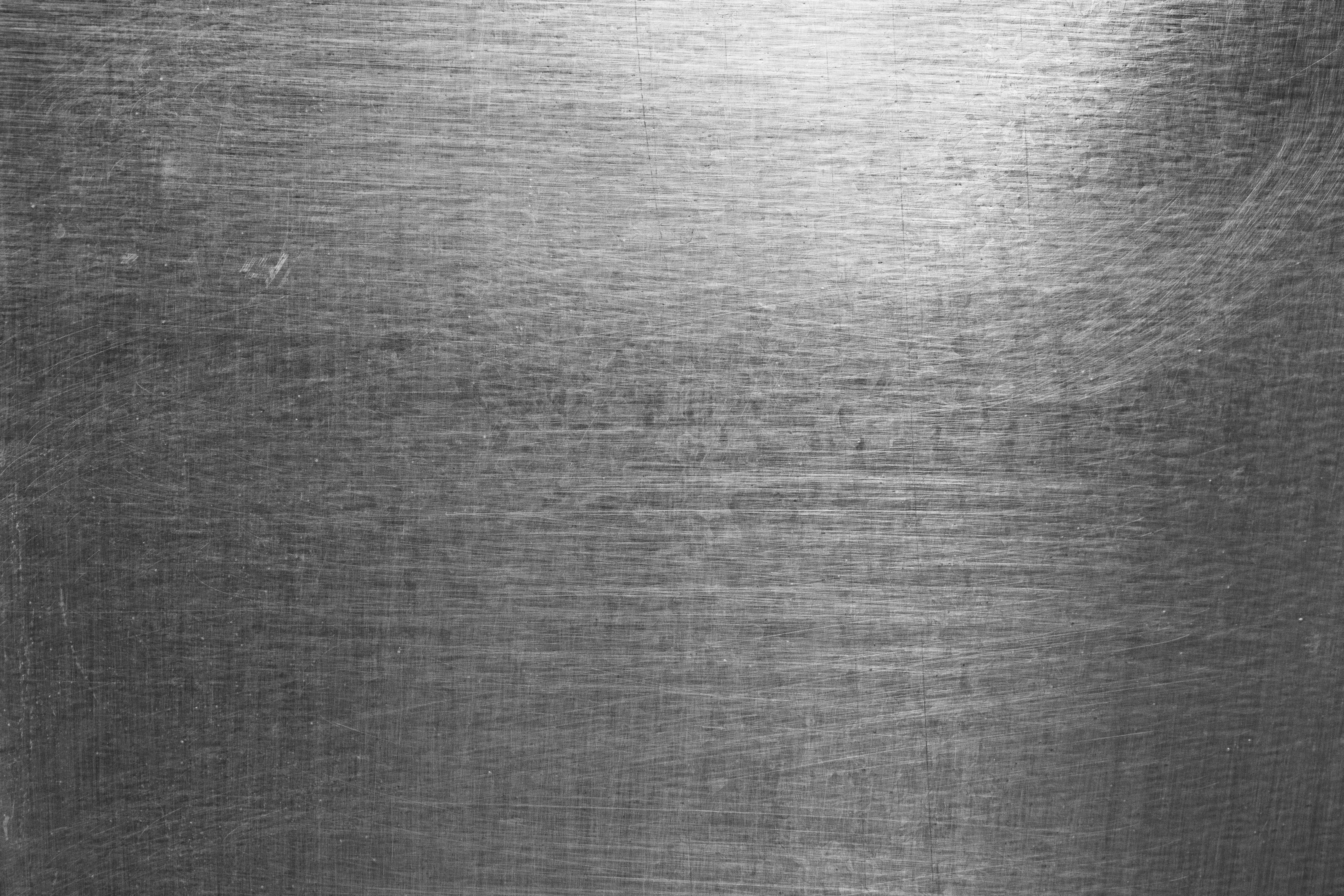 high contrast brushed scratched metal sheet