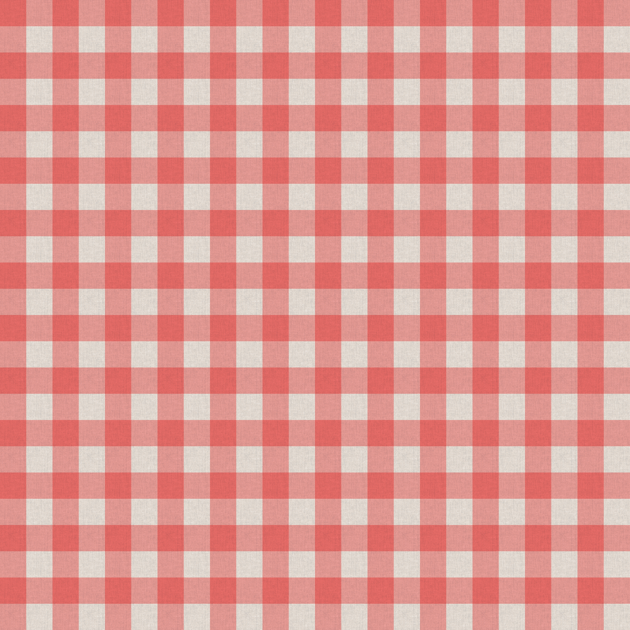 Red White Kitchen Table Cloth Texture