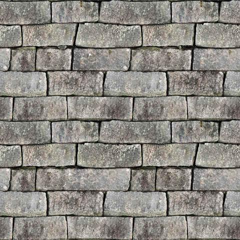 Texture of a big stone brick wall