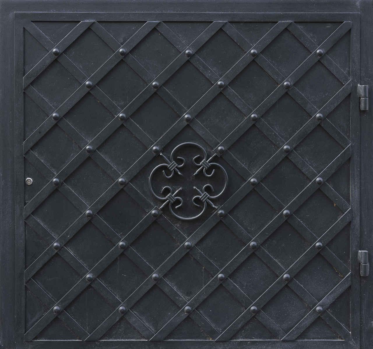 Medieval Metal Door