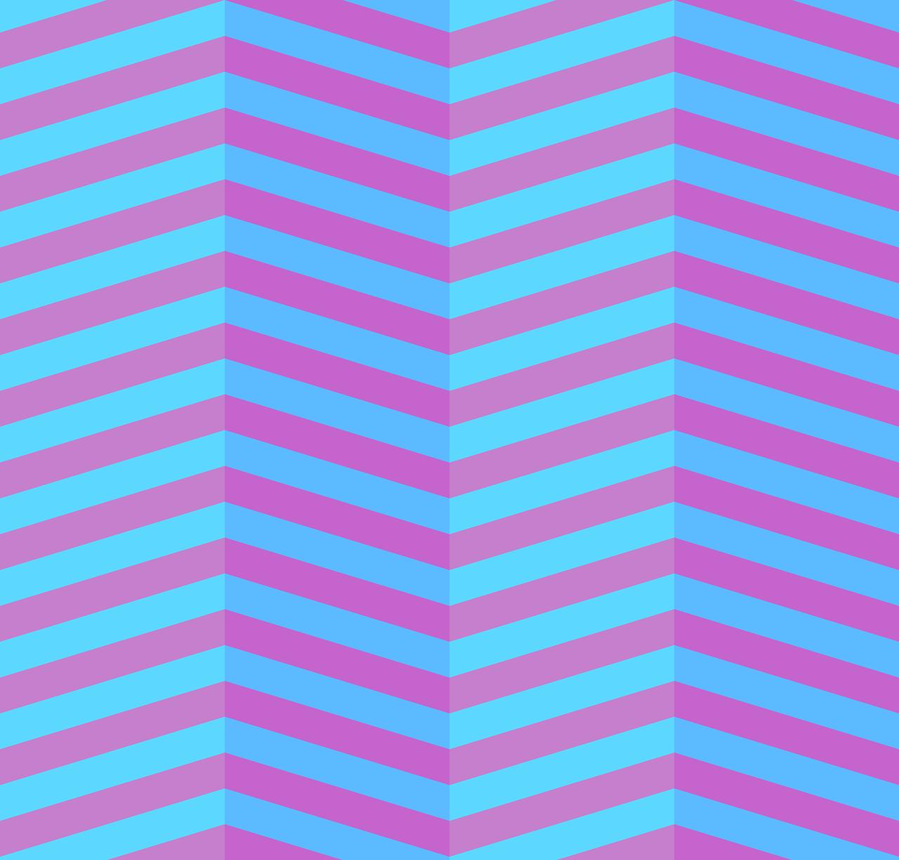 zigzag blue pink