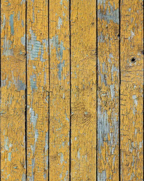 Vintage Yellow Wooden Planks texture