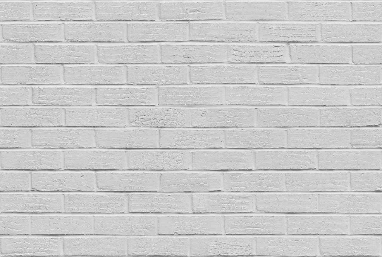 White Brick Wall Tileable Texture